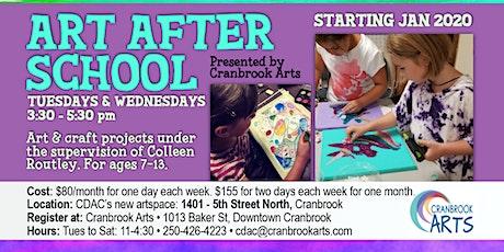 Art After School TWO DAYS A WEEK tickets