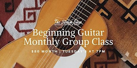 Beginning Guitar Monthly Group Class tickets
