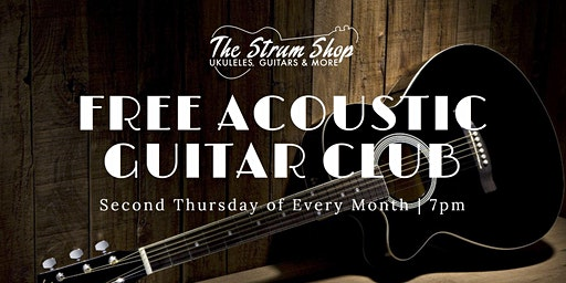 Free Monthly Acoustic Guitar Club