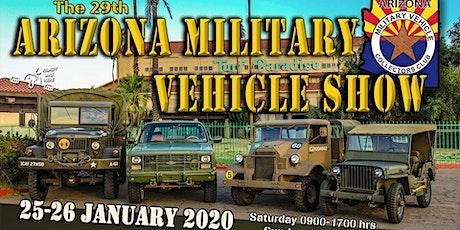 The 29th Arizona Military Vehicle Show tickets