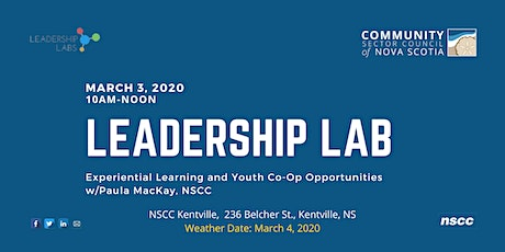 Leadership Lab:  Experiential Learning w/Paula MacKay, VALLEY Region tickets