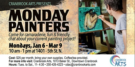 Monday Painters tickets