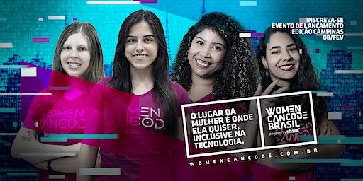 Women Can Code - Evento de Lançamento