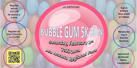 Bubble Gum 5K Run tickets