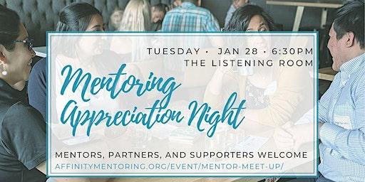 Mentoring Appreciation Night 2020