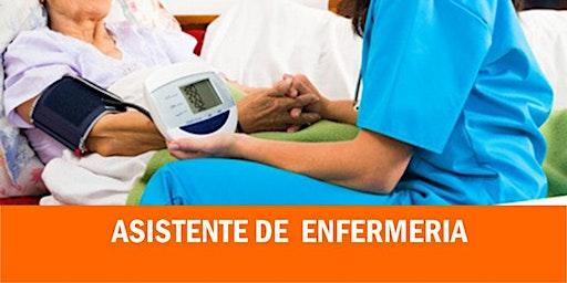 ASISTENTE DE ENFERMERÍA - INSCRIPCIONES