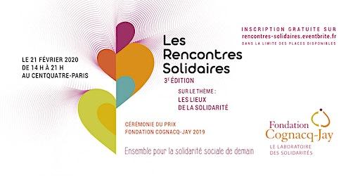 Les Rencontres Solidaires 3ème édition / Soirée Prix Fondation Cognacq-Jay