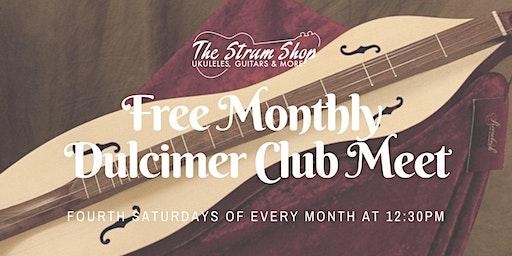 Free Monthly Mountain Dulcimer Club