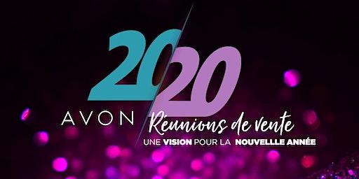 Réunion de vente Avon : Une vision pour la nouvelle année - Montréal