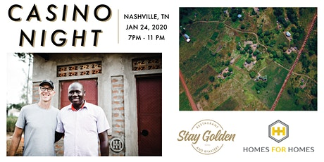 Stay Golden Casino Night benefitting Homes For Homes tickets