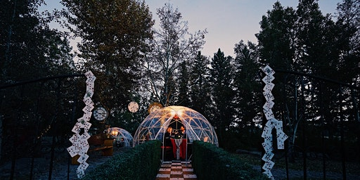 Dine in Wonderland Pop Up Dome Dinner
