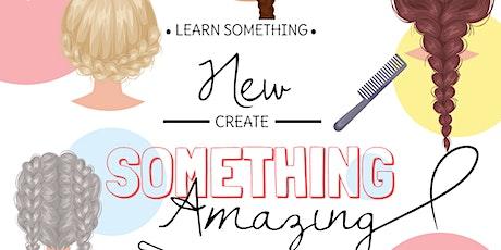 Braiding For Beginners Daytime Workshop - March 2020 tickets