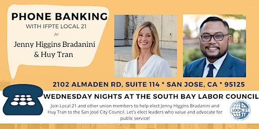 Phone Banking at the South Bay Labor Council