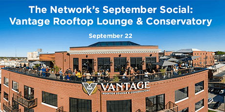 September Social: Vantage Rooftop Lounge & Conservatory tickets