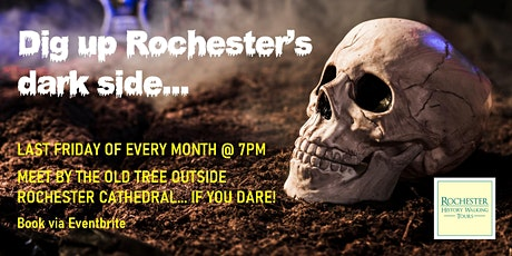 Rochester Ghosts, Murders and Secrets guided walking tour tickets