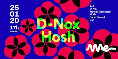 Ame Apresenta D-Nox e Hosh ingressos