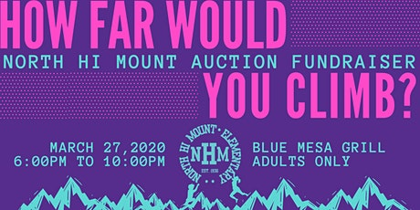 2020 North Hi Mount Auction Fundraiser tickets