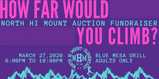 2020 North Hi Mount Auction Fundraiser