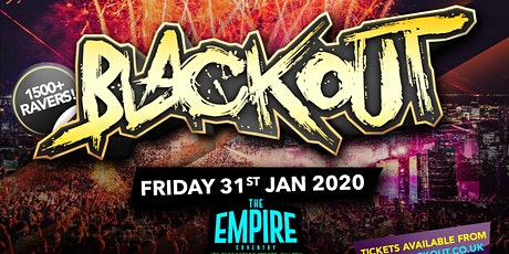 BLACKOUT - THE RETURN!! tickets