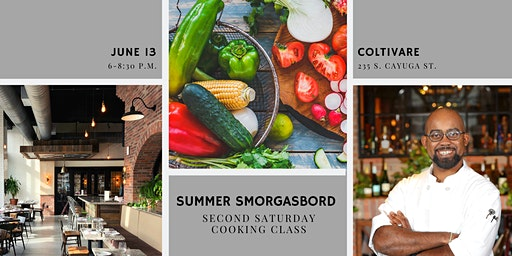 Cooking Class: Summer Smorgasbord