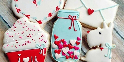 Beginner Cookie Decorating Class - Valentine's Day