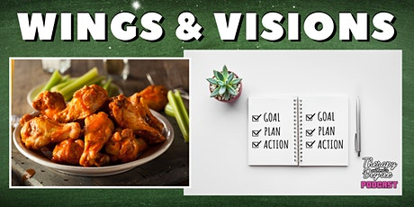 Wings & Visions: Free Appetizer, Vision Board & Game Plan (Life Coach) tickets