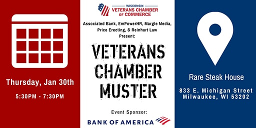 Veteran Chamber Muster- Milwaukee