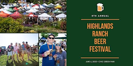 Highlands Ranch Beer Festival 2020