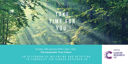 Take Time for You - An Afternoon of Wellbeing and Nutrition