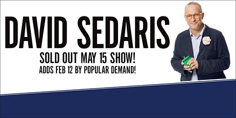The Vancouver Writers Fest Presents An Evening with David Sedaris tickets