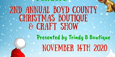 2nd Annual Boyd County Christmas Boutique & Craft Show tickets
