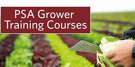 Produce Safety Alliance  Produce Safety Rule Grower Training Prescott, AZ tickets