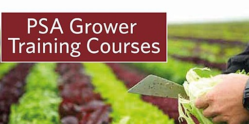 Produce Safety Alliance  Produce Safety Rule Grower Training Prescott, AZ