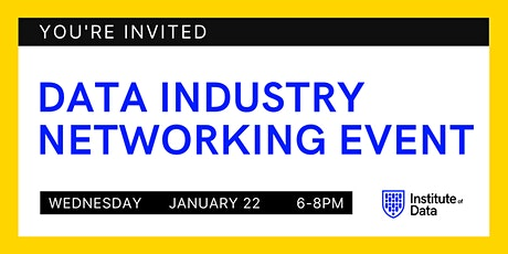 Data Industry Networking Event 2020 - Melbourne tickets