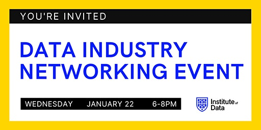 Data Industry Networking Event 2020 - Melbourne