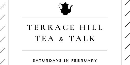 Tea & Talk / Patrick Phillips-Schrock presents on Treasures of Terrace Hill