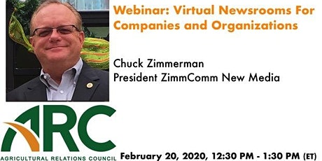ARC Webinar: Virtual Newsrooms For Companies and Organizations tickets