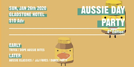 4th Annual Aussie Day Party // Gladstone Hotel tickets