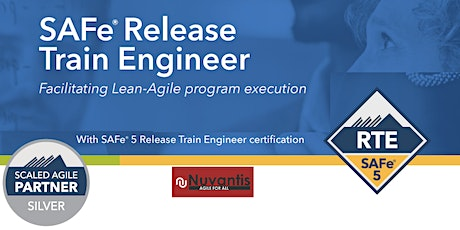 NEW - SAFe® Release Train Engineer 5.0  WILL RUN ( Edison, New Jersey) tickets