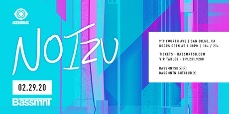 Noizu at Bassmnt Saturday 2/29 tickets