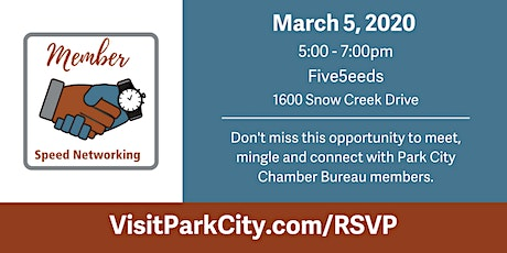 Members Only: Speed Networking tickets