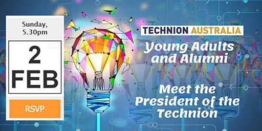 Exclusive! Young adults and Alumni networking with the President of the Technion