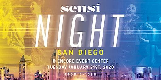 Sensi Night San Diego 1.21.20