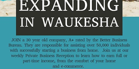 Waukesha Private Business Reception tickets