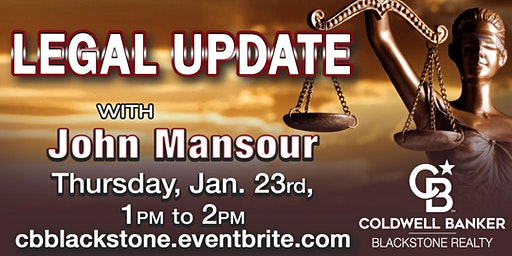 Legal Update w/ John Mansour