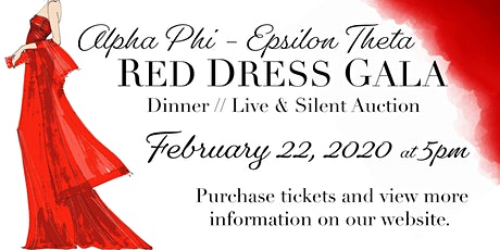 University of Northern Iowa Alpha Phi 12th Annual Red Dress Gala tickets