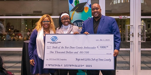 Boys & Girls Clubs of Dane County Youth of the Year Competition/Celebration