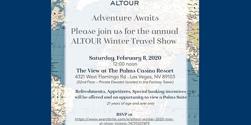 ALTOUR WINTER 2020 TRAVEL SHOW