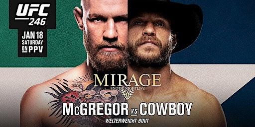 UFC 246 McGregor vs Cerrone - Platinum Dolls