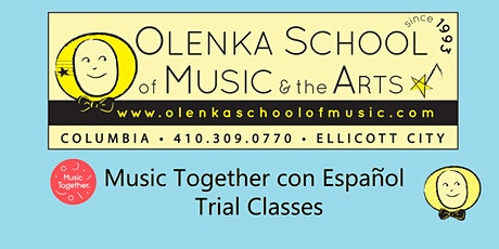 Music Together con Español Trial Classes tickets